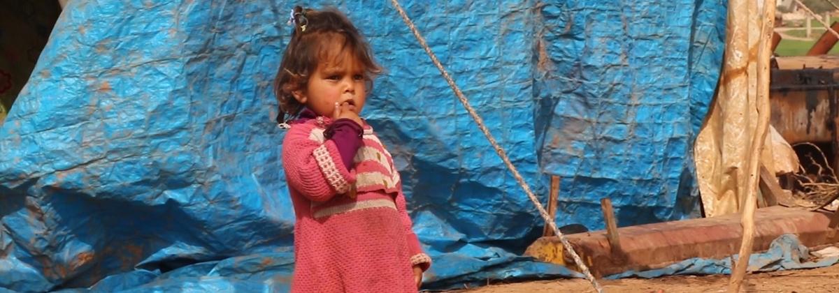 Efter åtta år av krig upplever nästan en tredjedel av Syriens barn otrygghet