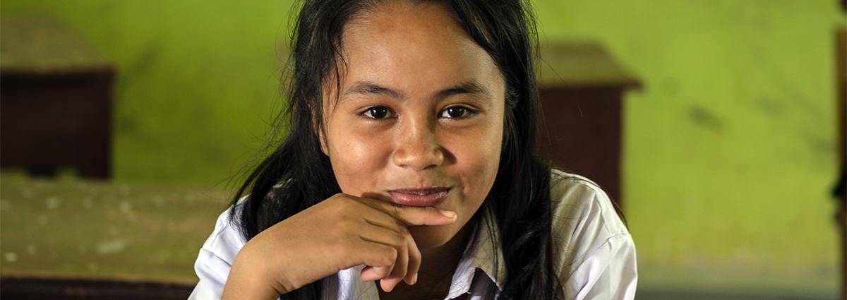 Barn som lever i kriszoner vill ha utbildning mer än pengar, mat eller vatten