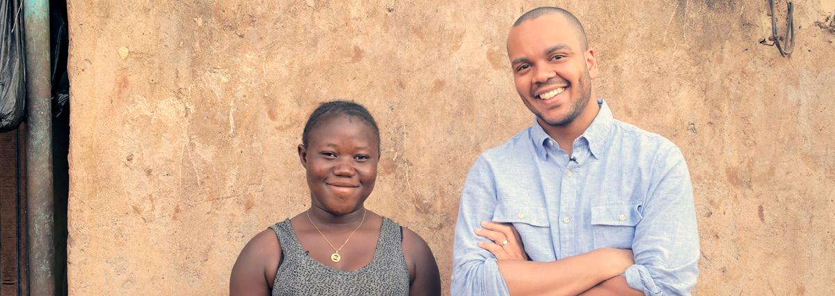 Nenäpäivä auttaa lapsia Burkina Fasossa