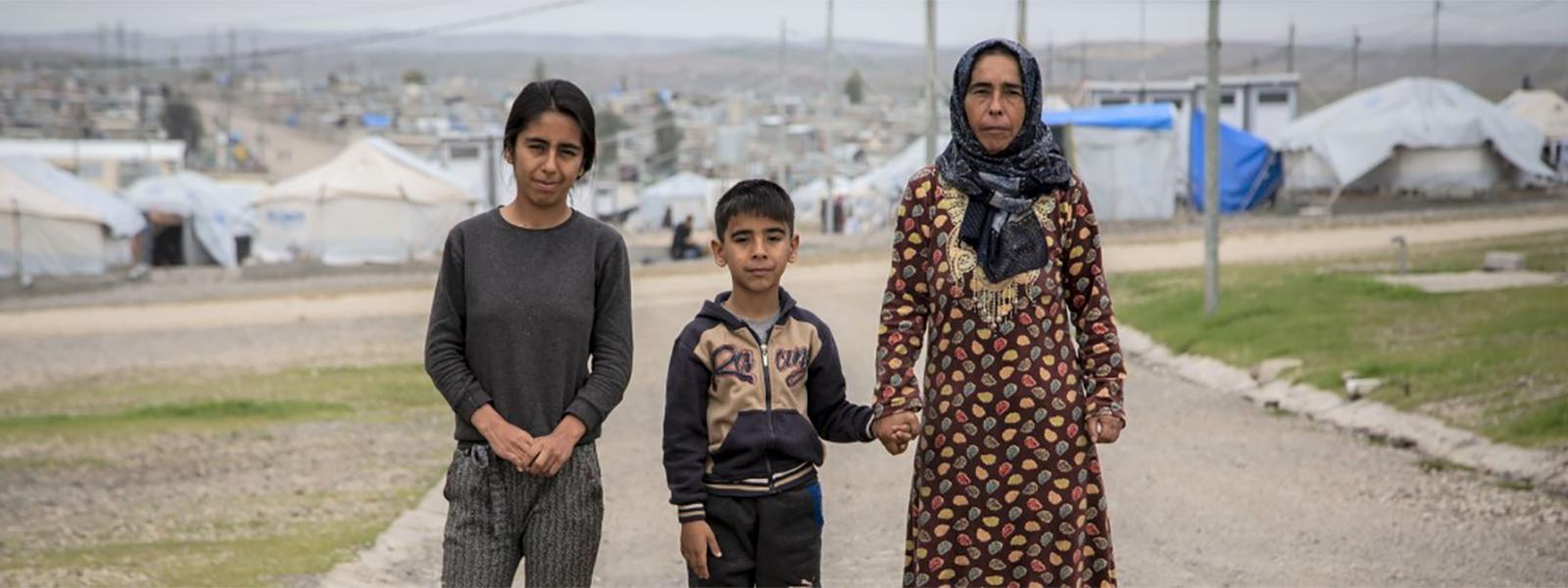 Joka kuudes lapsi elää konfliktialueella