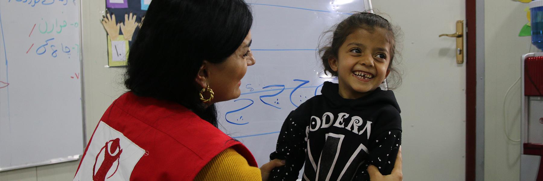 Autamme lapsia <br>Syyriassa ja lähialueilla