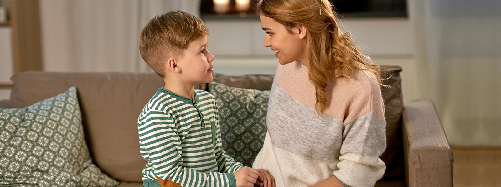 Ohjeita koronaviruksesta keskusteluun lasten kanssa