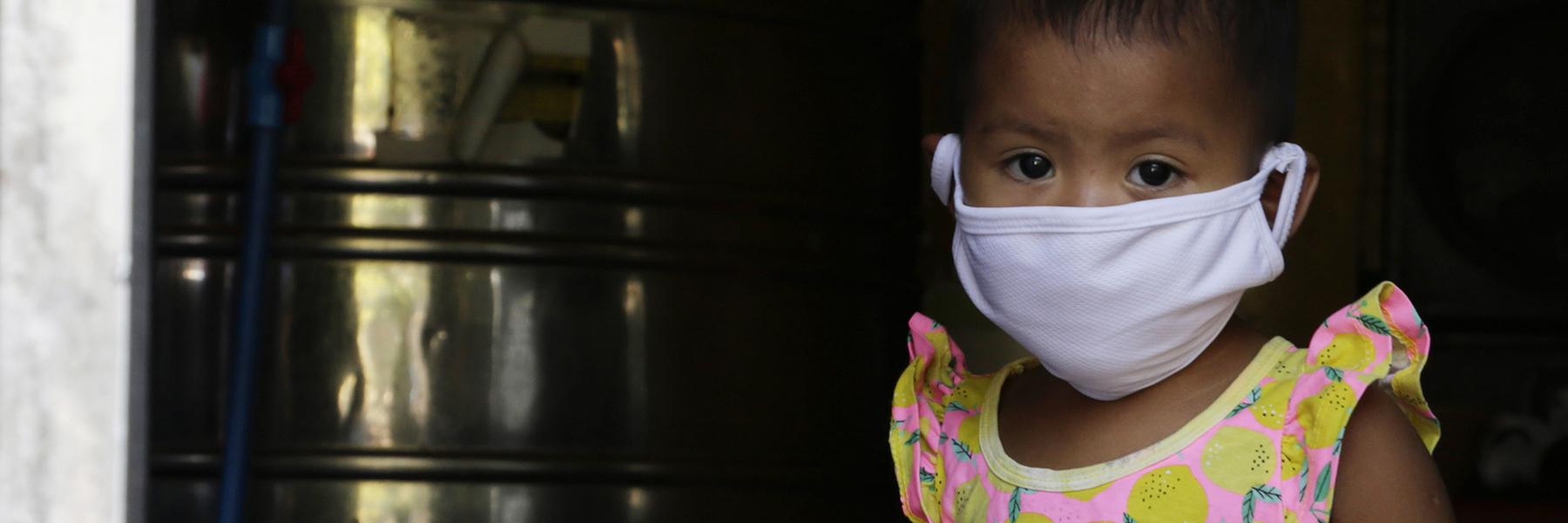 Auta maailman lapsia koronakriisissä