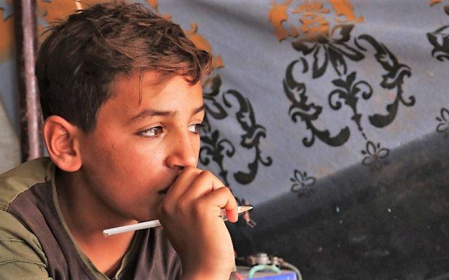 Koulua käymättömien lasten määrä on kaksinkertaistunut Pohjois-Syyriassa