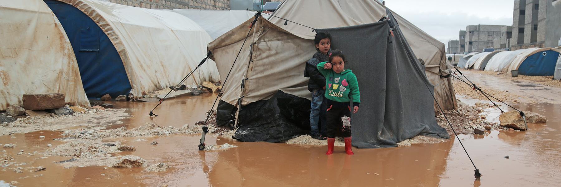 Tee yrityslahjoitus <BR> Syyrian lapsille