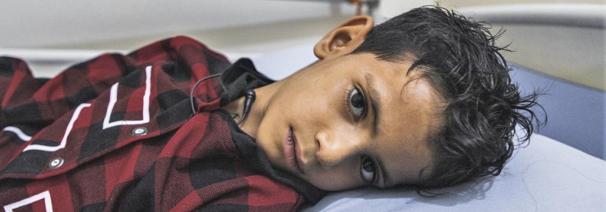 Vart fjärde civilla offer för konflikten i Jemen är ett barn