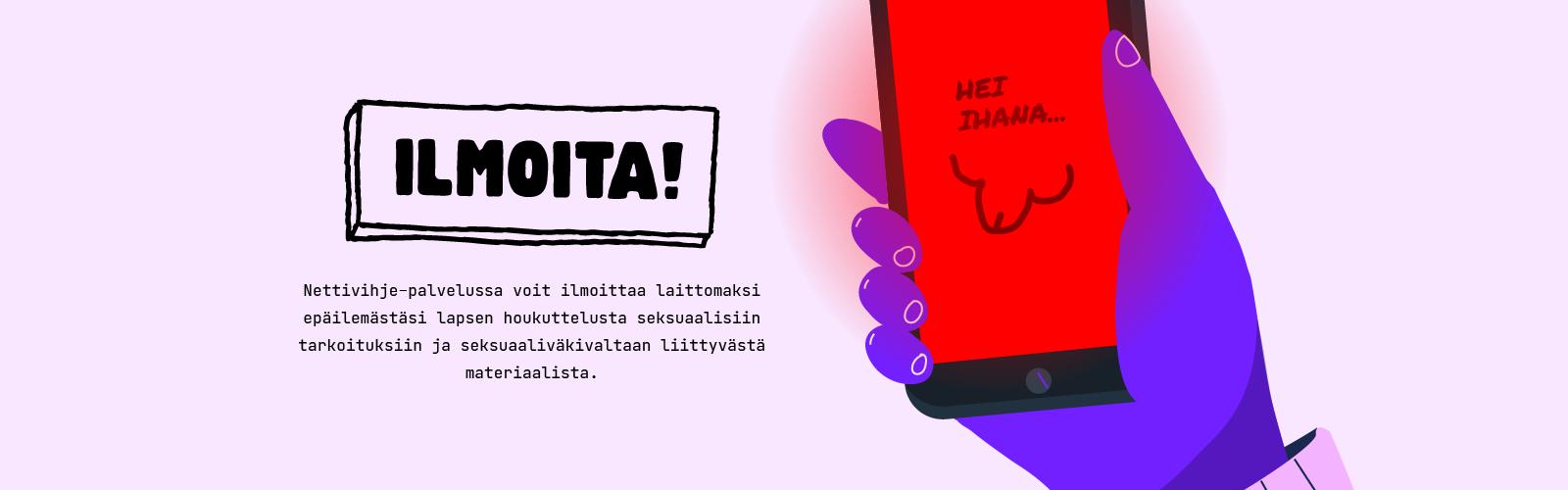 Nettivihje ja seksuaaliväkivallan ennaltaehkäisy
