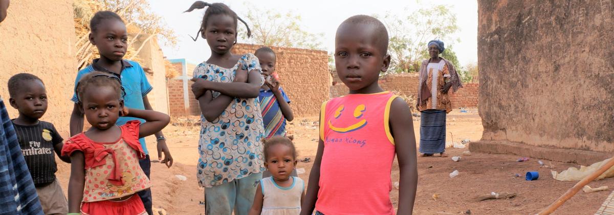 Joka kolmas lapsi Burkina Fasossa kärsii aliravitsemuksesta