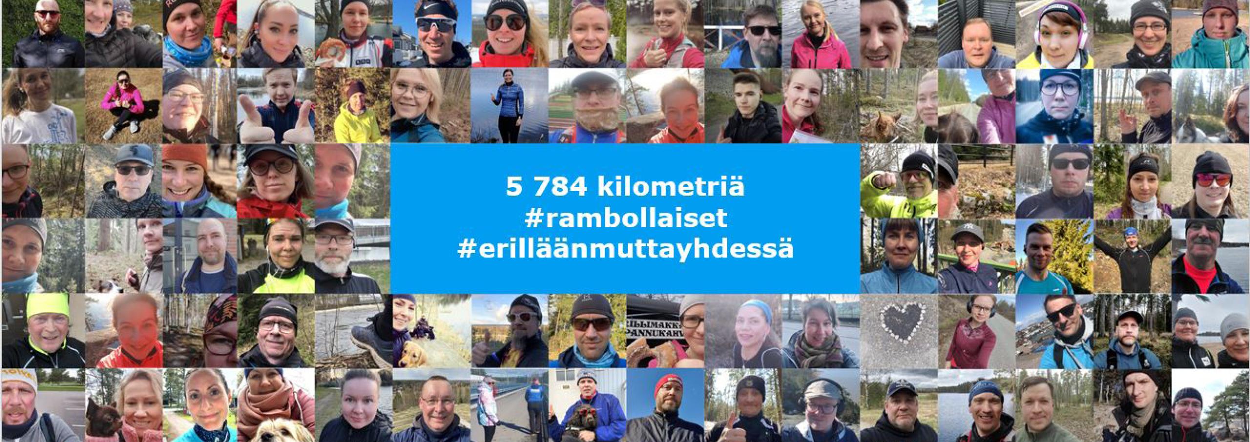 5784 kilometriä hyvän asian puolesta – Ramboll Finland keräsi rahaa Pelastakaa Lapsille lapsiperheiden tueksi
